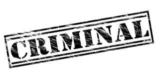 Sello negro criminal libre illustration