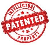 Sello patentado Foto de archivo libre de regalías