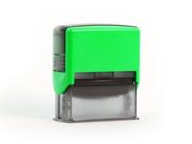Sello plástico Fotografía de archivo libre de regalías