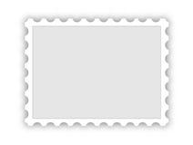 Sello postal en blanco ilustración del vector