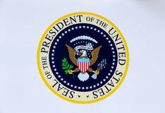 Sello presidencial de los Estados Unidos de América Imagen de archivo libre de regalías