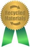 Sello reciclado/EPS de los materiales stock de ilustración
