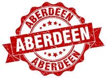 Sello redondo de la cinta de Aberdeen Libre Illustration