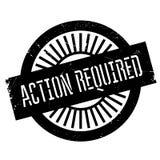 Sello requerido acción Imágenes de archivo libres de regalías