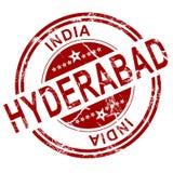 Sello rojo de Hyderabad libre illustration