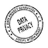 Sello social de los media aislado en blanco fotografía de archivo libre de regalías