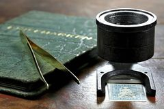 Sello suizo de Strubel fotografía de archivo libre de regalías