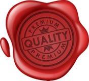 Sello superior de la cera de la venta de la calidad Fotografía de archivo libre de regalías