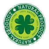 Sello verde Imagenes de archivo