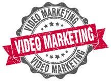 sello video del márketing sello ilustración del vector