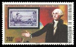Sello y George Washington de los E.E.U.U. Imagen de archivo libre de regalías