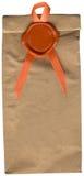 Sello y paquete de la cera de la vendimia, XXX tamaño del archivo Imagen de archivo