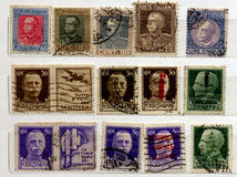 Sellos BRITÁNICOS Imágenes de archivo libres de regalías