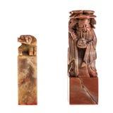 Sellos chinos de la piedra Foto de archivo libre de regalías