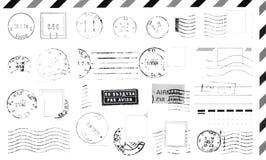 Sellos de goma ilustración del vector