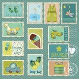 Sellos del bebé Imagen de archivo libre de regalías