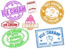 Sellos del helado Fotos de archivo