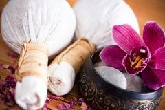 Sellos del masaje foto de archivo libre de regalías