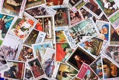 Sellos del mundo Imagenes de archivo