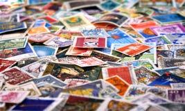 Sellos del poste Foto de archivo libre de regalías
