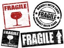 Sellos frágiles Fotografía de archivo