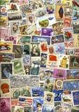 Sellos mundiales - filatelia Imagen de archivo libre de regalías