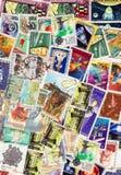 Sellos postales Imágenes de archivo libres de regalías