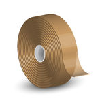 Sellotape. Vector illustration of brown sellotape Royalty Free Stock Image