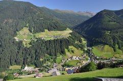 Sellrain en Fotschertal, Oostenrijk Stock Afbeelding