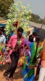Sells men market indian carnival festival cultural Royalty Free Stock Images