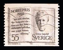 Selma Lagerlof serie för Nobelprisvinnare, circa 1969 Arkivbilder