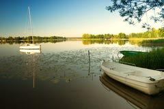Selment Wielki Lake Stock Photo
