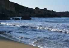 Selmun Bay (Imġiebaħ Bay). Calm Mediterranean Sea on Selmun Bay - Malta, nice clear day Stock Photography