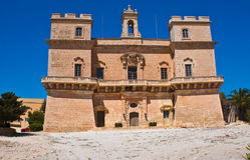 Selmun Palace Royalty Free Stock Photo