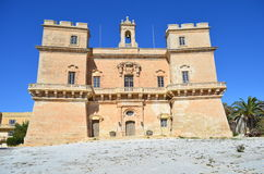 Selmun Palace - Malta. Selmun Palace in the limits of Mellieha in Malta Stock Image