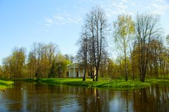 selo πάρκων της Catherine tsarskoye Στοκ εικόνα με δικαίωμα ελεύθερης χρήσης