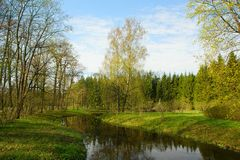 selo πάρκων της Catherine tsarskoye Στοκ Φωτογραφίες