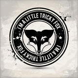 Selo alternativo da raposa Foto de Stock