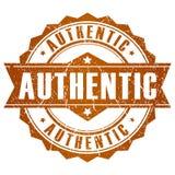 Selo autêntico do vetor Imagem de Stock Royalty Free