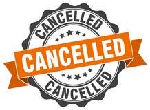 Selo cancelado ilustração royalty free