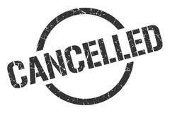 Selo cancelado ilustração stock