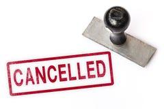 Selo cancelado da etiqueta do sinal do texto imagem de stock royalty free