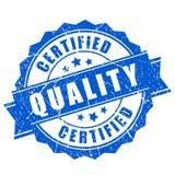 Selo certificado do vetor da qualidade ilustração do vetor