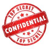 Selo confidencial