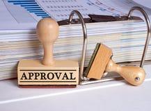 Selo da aprovação Fotos de Stock