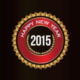 Selo da boa sorte de ano novo feliz Imagens de Stock