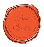 Selo da cera da qualidade Imagens de Stock