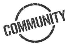 selo da comunidade ilustração do vetor