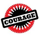 Selo da coragem da cópia no branco ilustração royalty free