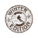 Selo da edição do inverno Imagens de Stock
